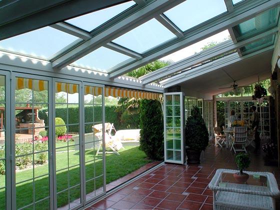 Cerramientos de vidrio repartido - Cerramientos plegables de vidrio ...